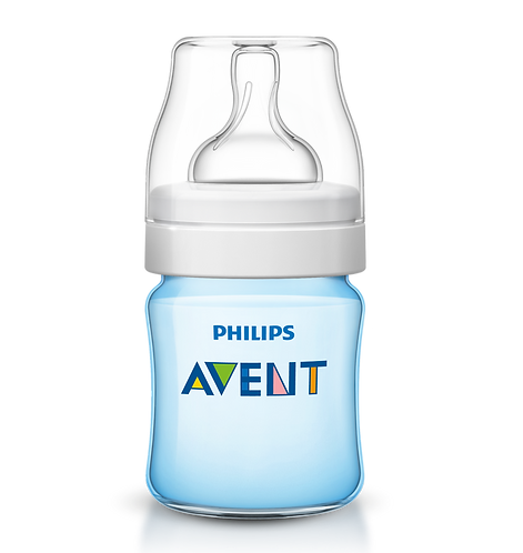 Biberon Classic Azul De 125 Ml Philips Avent