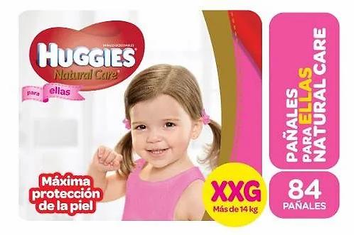 Huggies Ellas XXG 84 unidades.