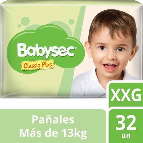 Babysec classic plus XXG x 32 unidades