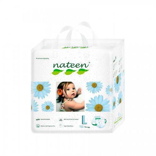 Nateen (biodegradable)  talle G/L  16 unidades