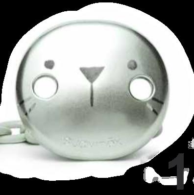 Broche para chupete variedad de diseños metalizados Suavinex