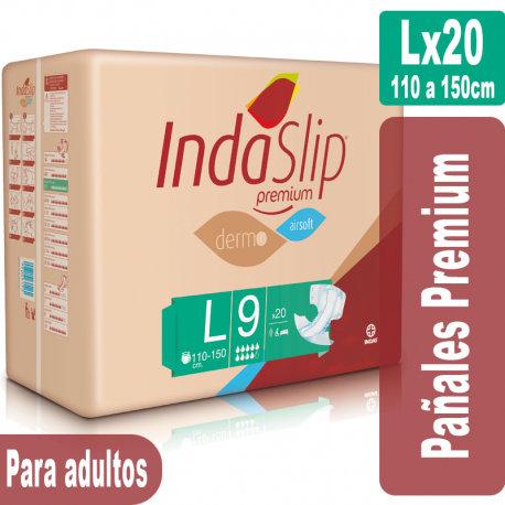 Indaslip Premium Lx20 Pañales absorción 9