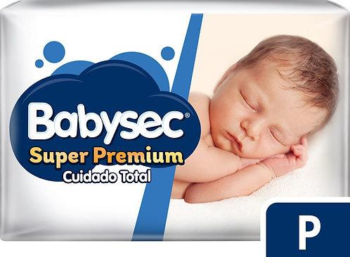 Babysec Super Premium  P x 80 unidades