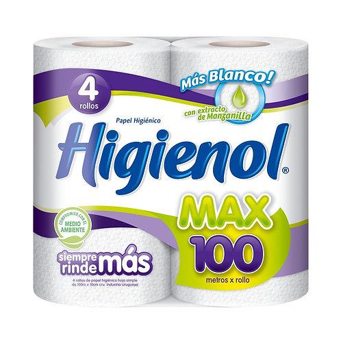 Higienol Max 100 4 Rollos