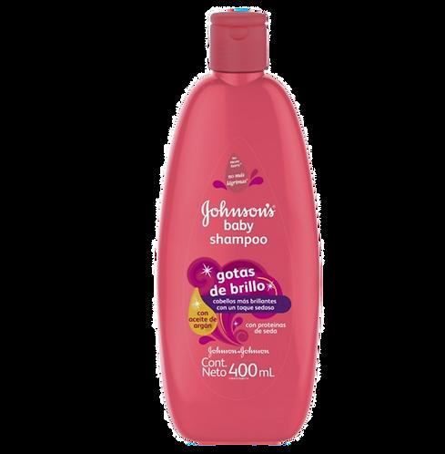 Shampoo Johnson´s Baby Gotas de Brillo 400ml