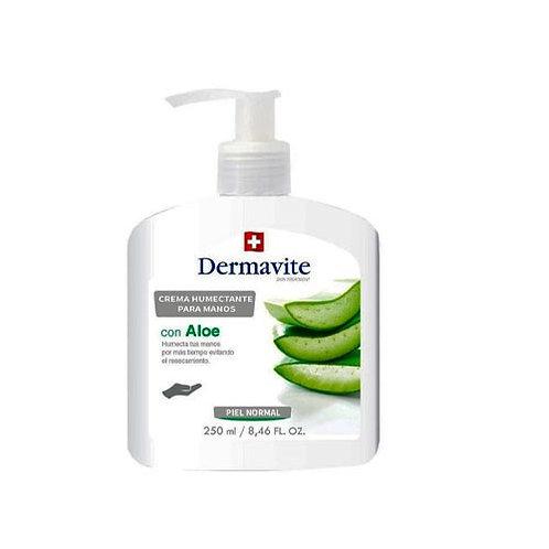 Dermavit Hand Piel Normal Con Aloe Vera 250ml