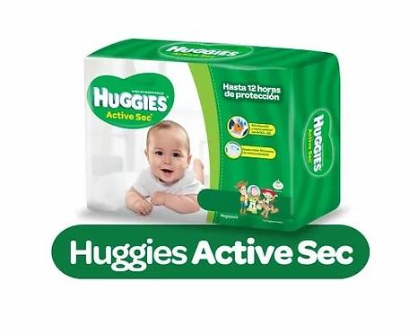 Huggies Active Sec Recién nacido 20 unidades.