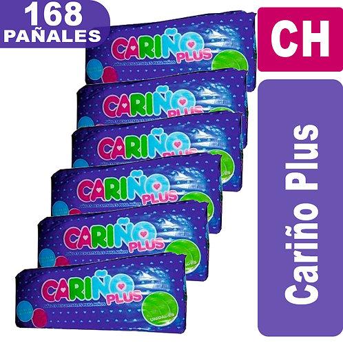 Pañales CariñoPlus P x 168 unidades