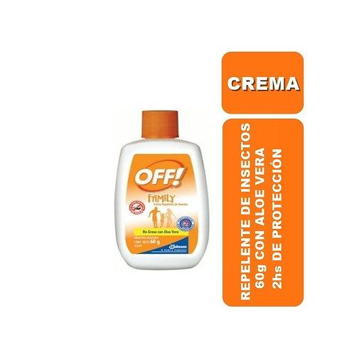 OFF Repelente en Crema 60g