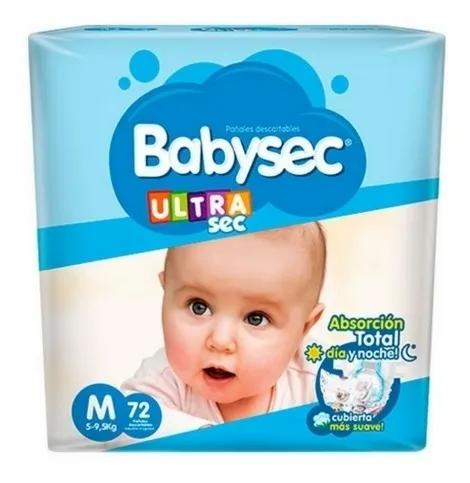 Babysec Ultra M 72 unidades.