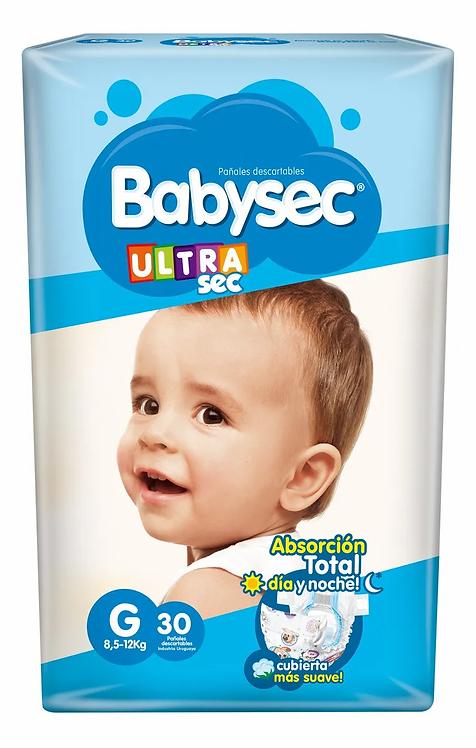Babysec Ultra G  30 unidades.