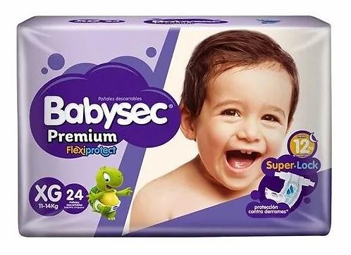 Babysec Premium  flexiprotect.  XG 24 unidades