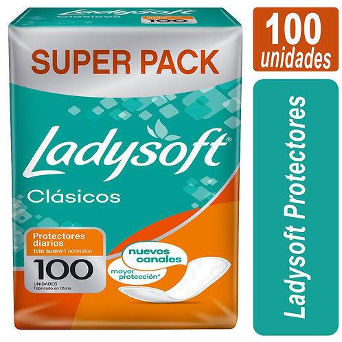 Ladysoft Protectores x 100