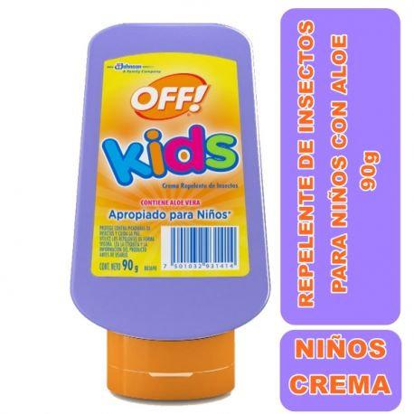 OFF Repelente en Crema para Niños 90g