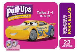 Pull Up Huggies Ellas 22 unidades
