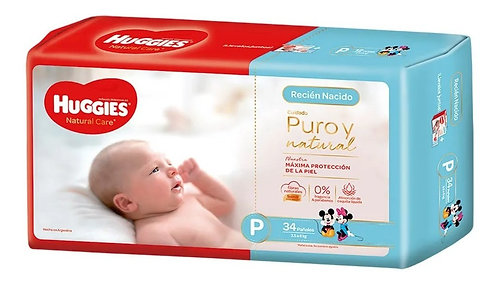 Huggies Natural Care P x 34