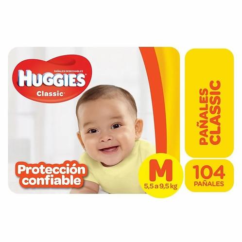 Huggies Classic M PACK AHORRO 104 unidades.