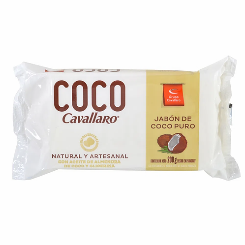 Coco Cavallaro Jabon en barra 200g