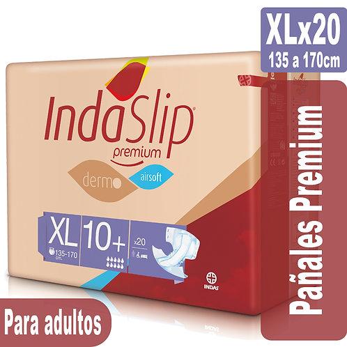 Indaslip Premium XLx20 Pañales absorción 10+