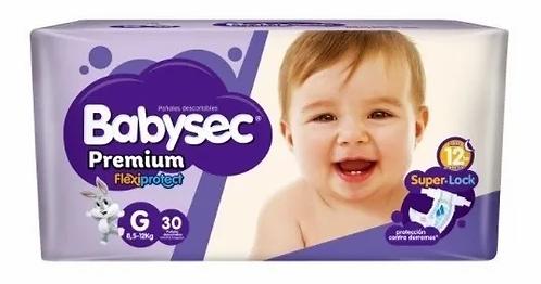 Babysec  Premium  flexiprotect G 30 unidades