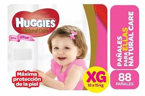 Huggies Ellas XG 88 unidades.