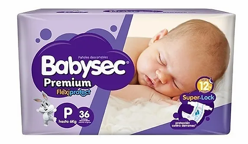 Babysec Premium  flexiprotect P 36 unidades