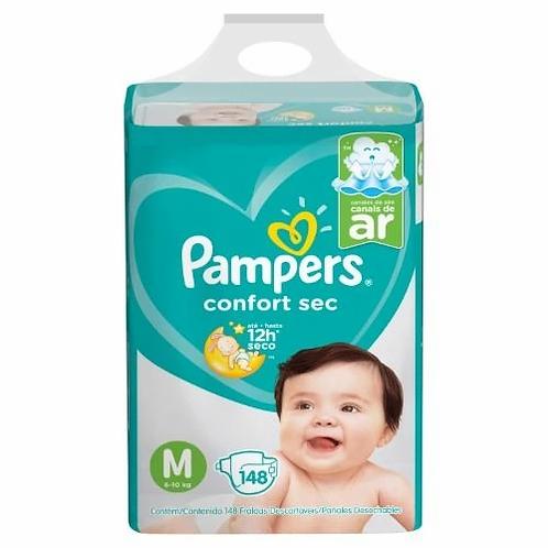 Pampers Comfort Sec m x 148