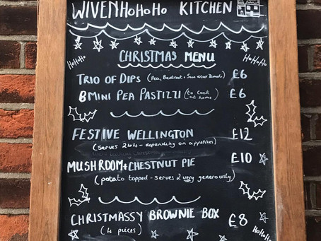 Wivenhoe Kitchen's First Christmas!