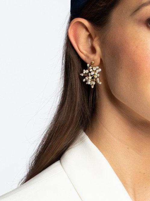 Kolczyki DAISY z perłami
