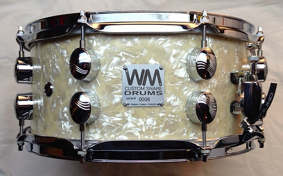 """6 1/2"""" x 14"""" - 10 ply Maple shell (vintage style)"""