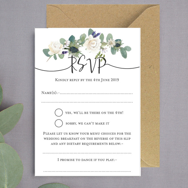 Lusby Floral RSVP