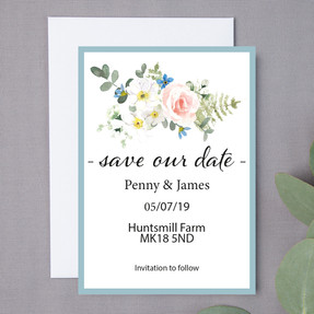 Duck Egg Save The Date