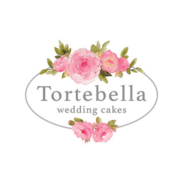 Tortebella Wedding Cakes Logo Design
