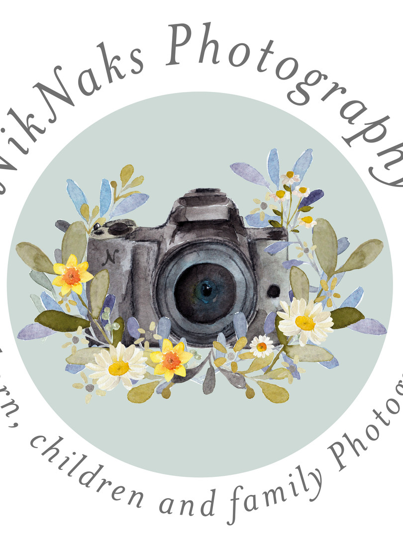 NikNaks Photography Logo Design