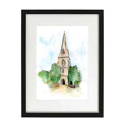 Steeple Claydon Church