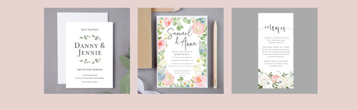Wedding Stationery Examples