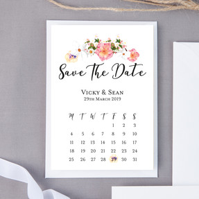 English Garden Save The Date