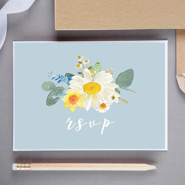 Bluebell Floral RSVP