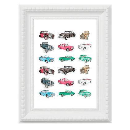 Classic Car Print