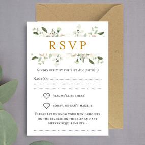 Moores Floral RSVP