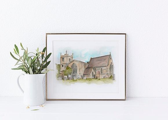 Marsh Gibbon Church
