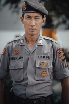 Proud Balinese Cops, Bali - 2015