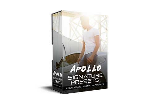 APOLLO - 20 Lightroom Presets Pack