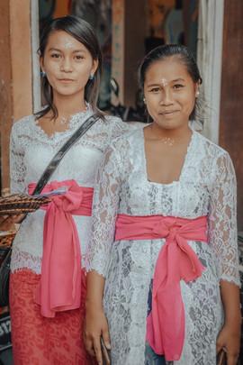 Balinese Girls, Bali - 2015