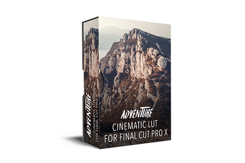FREE - ADVENTURE Cinematic Lut for Final Cut Pro X