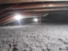 cellulose in an attic