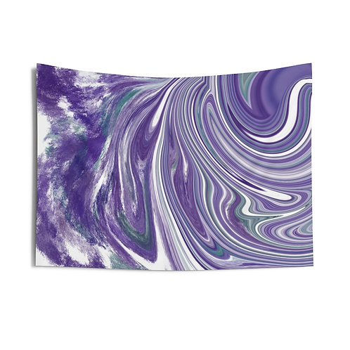 Purple Swirls