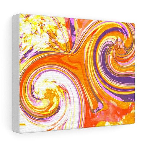 PurpleOrange Swirls