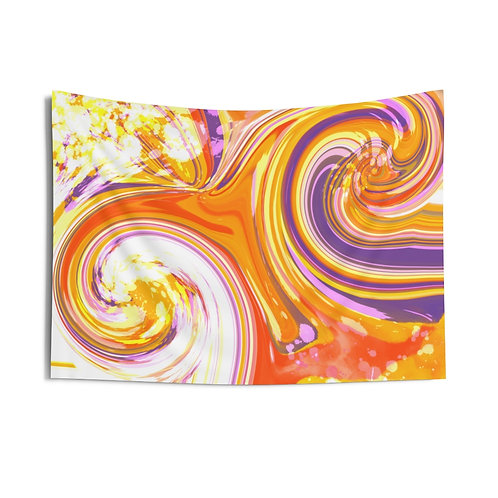 PurpleOrange Swirls