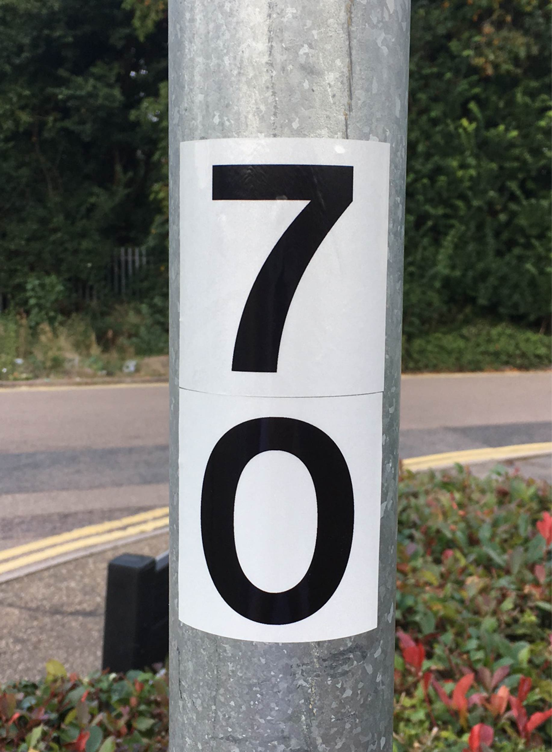 Reflective Column Numbers